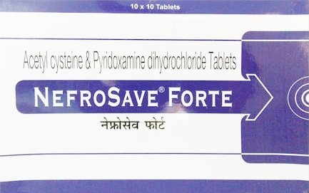 Nefrosave Forte Tablet – Uses, Price, Composition in Hindi