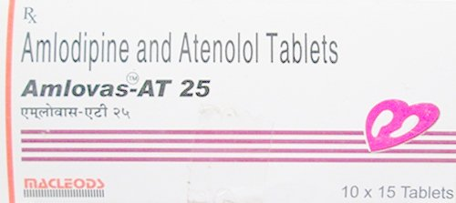 Amlovas AT Tablet – Uses, Composition, Price in Hindi – अम्लोवास