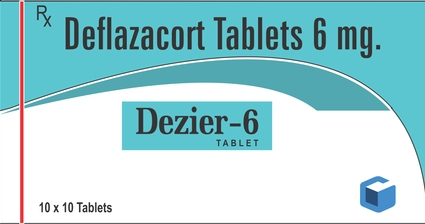 Deflazacort 6 mg Tablet – Uses, Price & Content in Hindi