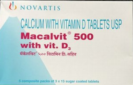 Macalvit 500 Tablet in Hindi – Uses, Composition, Price
