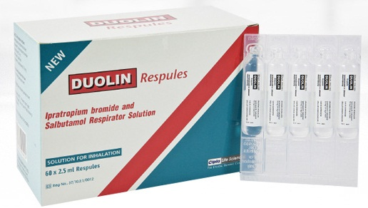 Duolin Respules 2.5Ml