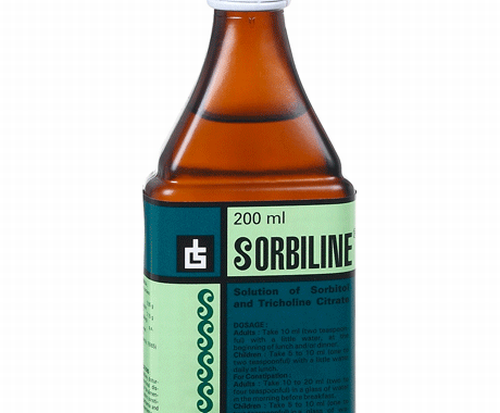 Sorbiline Syrup 200 ml in Hindi – Uses, Price, Side-effects